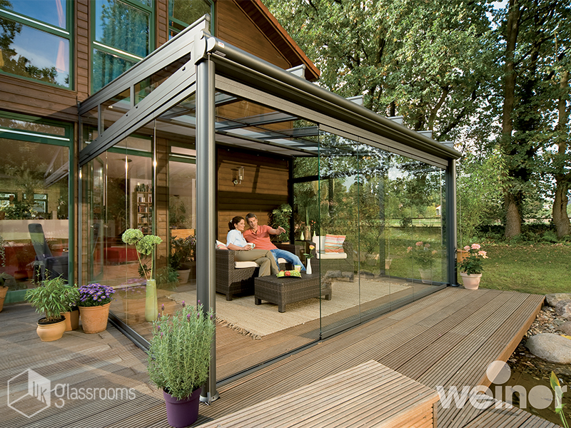 Glass Rooms Roof Terrace Cover Examples