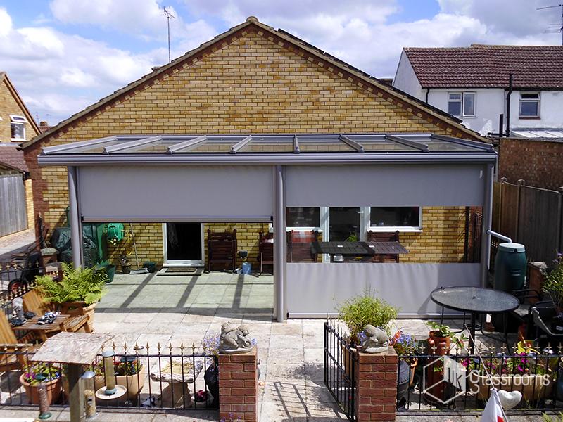Glass Verandas Glass Roof Terrace Cover Examples