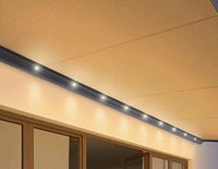 Weinor LED light bars or awnings, verandas and glass rooms