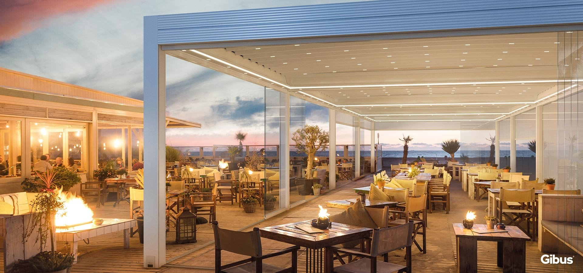 Gibus Azimut Retractable Roof systems