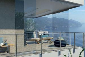 Glassroom on balconey